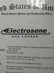 ELECTROSENE GAS COOKER®